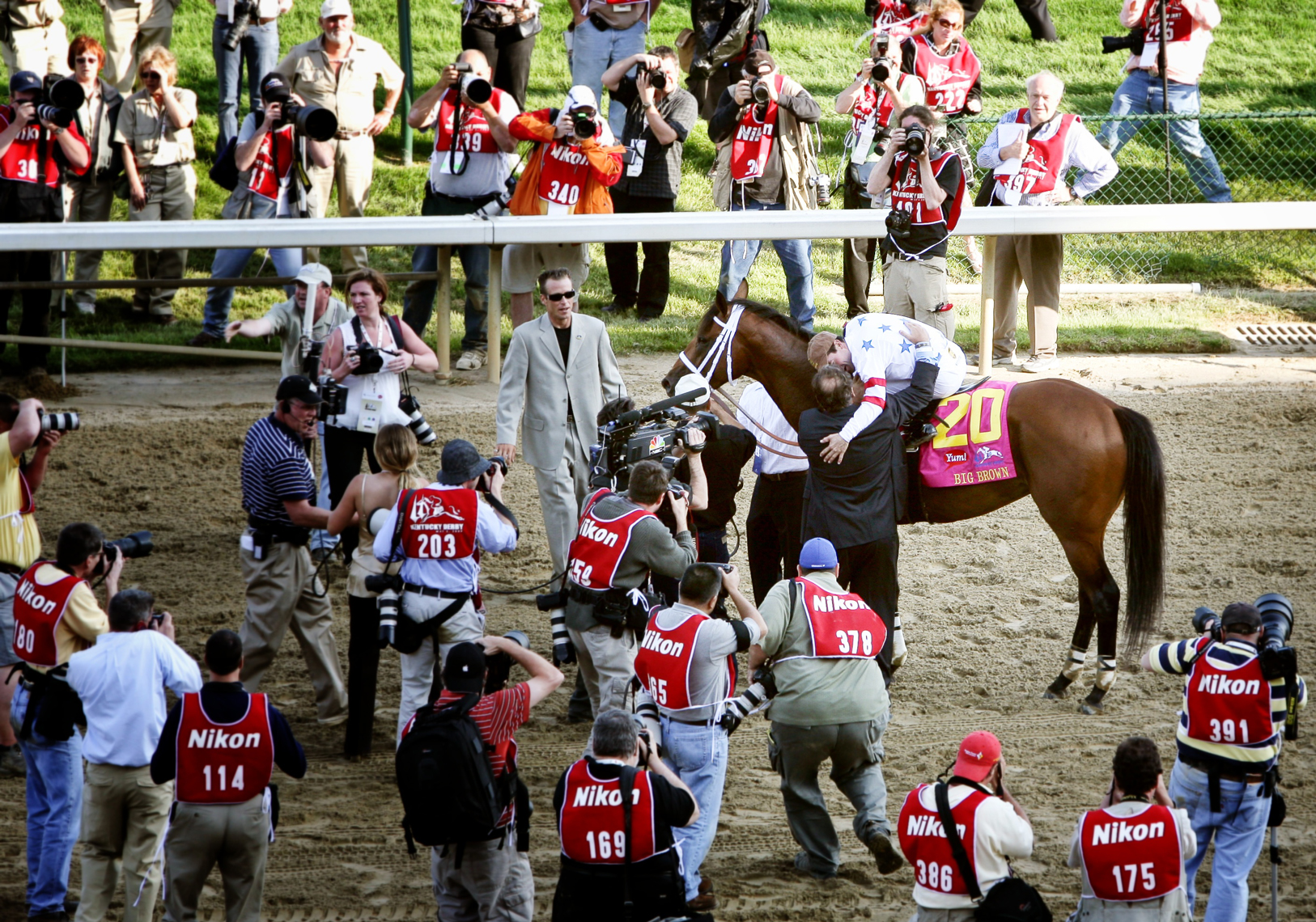 Big Brown Kentucky Derby 2008