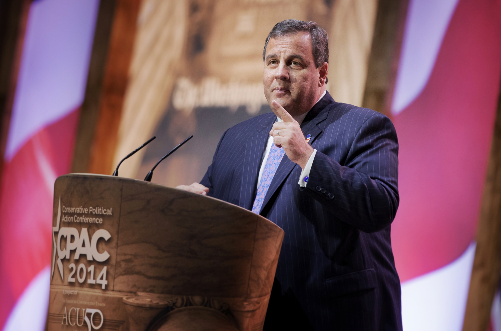New Jersey Governor Chris Christie Political photographs