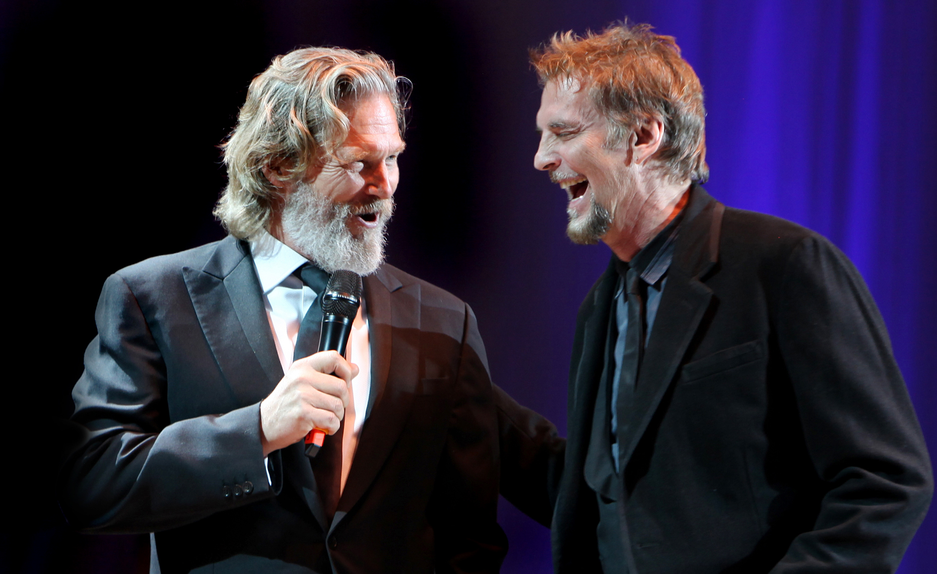Kenny Loggins and Jeff Bridges